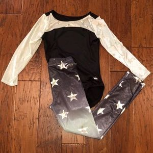 Justice Leotard and Leggings Set